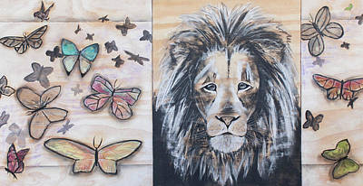 Designs Similar to The Lion And The Butterflies