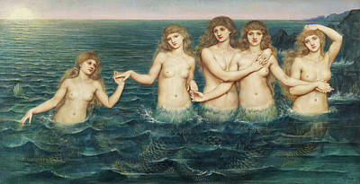 Designs Similar to The Sea Maidens, 1886