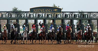 Keeneland Race Track Prints