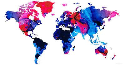 Continent Mixed Media