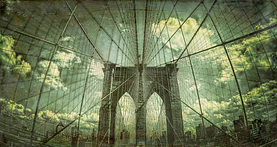 Designs Similar to Abstract Brooklyn Bridge
