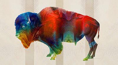 Animal Football Paintings