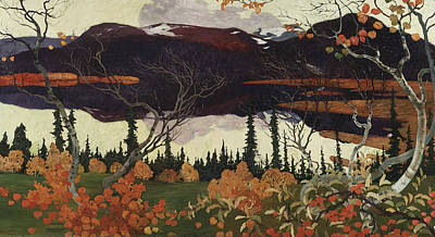 Designs Similar to Autumn by Helmer Osslund