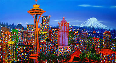 Designs Similar to Seattle Space Needle 5