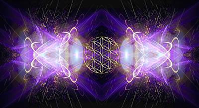 Fractal Geometry Digital Art Original Artwork