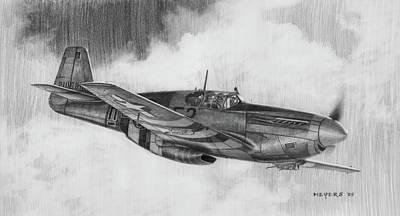 Spitfire Drawings Prints