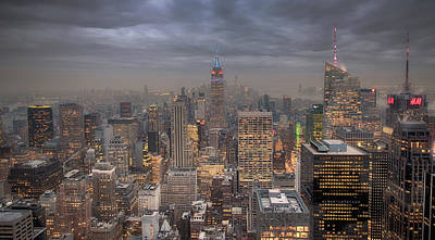 New York City Skyline Photographs Original Artwork