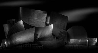 Walt Disney Concert Hall Photographs Original Artwork