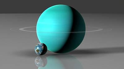 Designs Similar to Earth Compared To Uranus