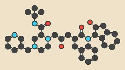 Designs Similar to Indinavir Hiv Drug Molecule