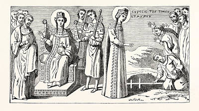 True Cross Drawings Prints