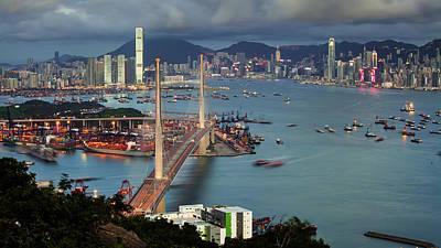 Designs Similar to Stonecutter Bridge, Hong Kong