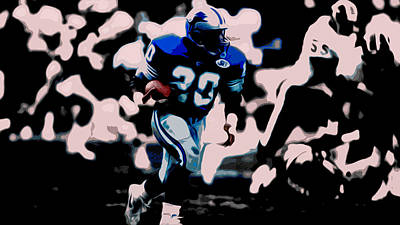 Designs Similar to Barry Sanders 17a