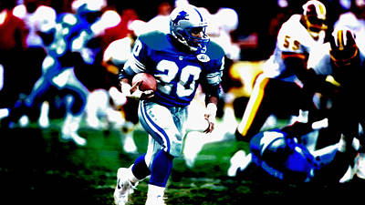 Designs Similar to Barry Sanders On The Move
