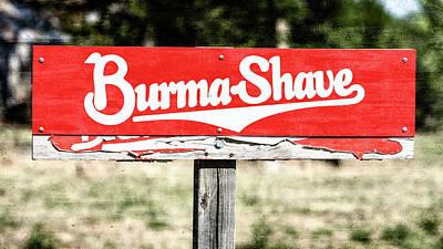 Designs Similar to Burma Shave #1