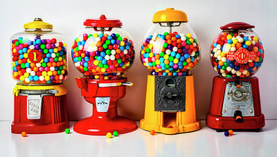 Designs Similar to Four Bubblegum Machines
