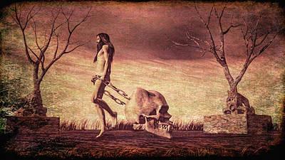 Spooks Digital Art Original Artwork