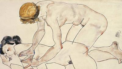 Sexual Lovers Drawings