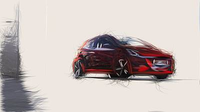 Designs Similar to Peugeot 208 Gti Draw