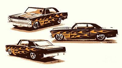 Designs Similar to Flamin Chevrolet 66 Nova