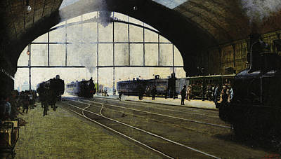 Designs Similar to Milan Central Station In 1889