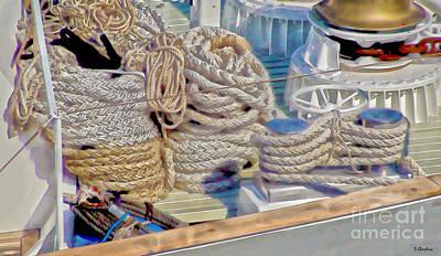Boat Hardware Digital Art