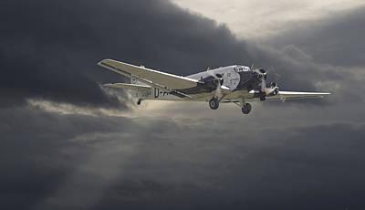 Civil Aviation Digital Art