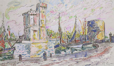 Designs Similar to La Rochelle by Paul Signac