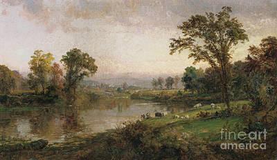Riverscape - Early Autumn Prints