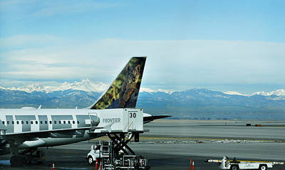 Frontier Airlines Prints