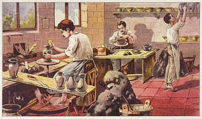 Designs Similar to Potters At Work, One Barefoot