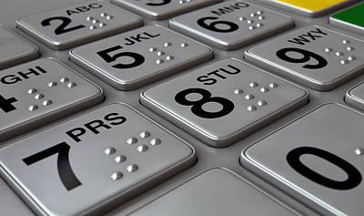 Designs Similar to Atm Keypad Closeup