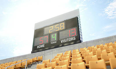 Scoreboard Digital Art