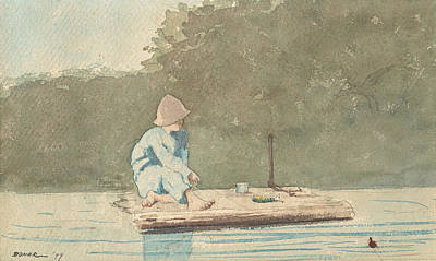 Designs Similar to Boy On A Raft by Winslow Homer