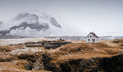 Designs Similar to Lonely House In Winter Iceland