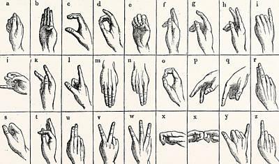 Sign Language Drawings