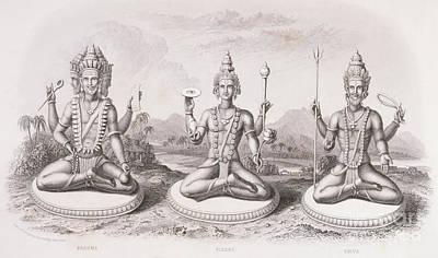 Hindu Goddess Drawings
