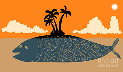Designs Similar to Island Fish by Complot