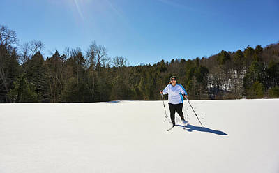 Designs Similar to Woman Cross Country Skiing