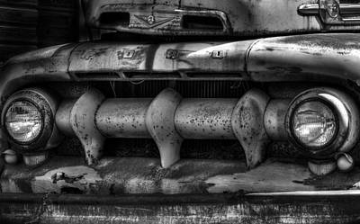 Antique Ford Truck Grill Photographs