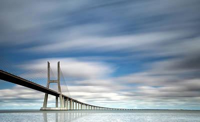 Vasco Da Gama Bridge Art