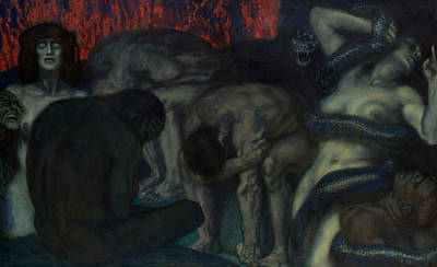 Designs Similar to Inferno by Franz von Stuck