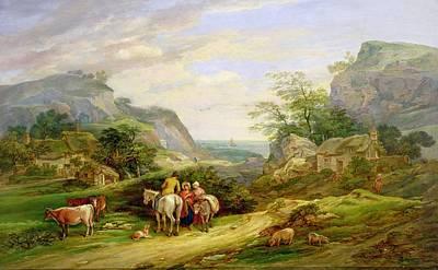 Landscape With Figure Art