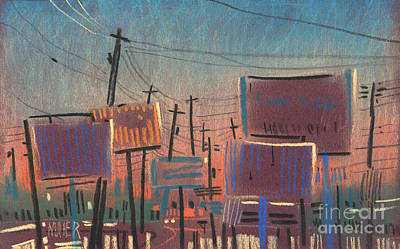 City Sunset Drawings