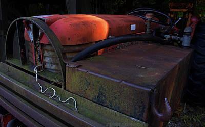 Old Tractor Digital Art