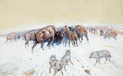 Designs Similar to Montana Winter, 1905