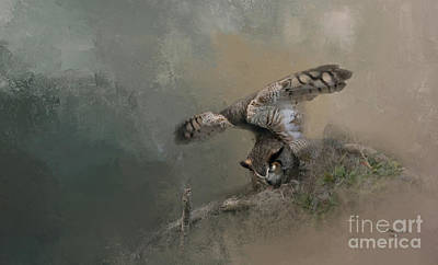 Designs Similar to Owl Stretch by Marvin Spates