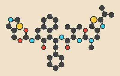 Designs Similar to Ritonavir Hiv Drug Molecule