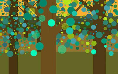 A Summer Evening Landscape Prints