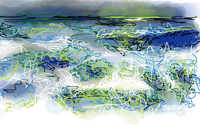 Turbulent Skies Drawings Prints